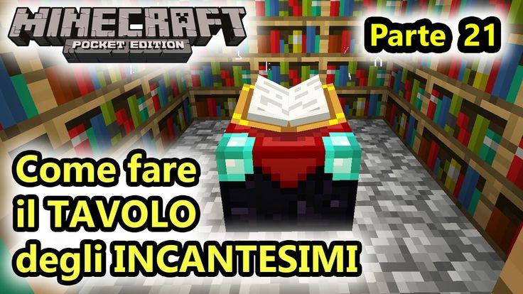 Minecraft PE - Il TAVOLO degli INCANTESIMI! - Android - (Salvo Pimpo's)