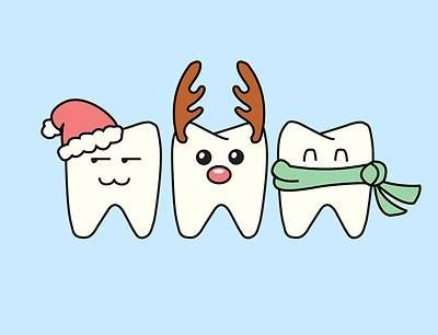 X-mas teeth