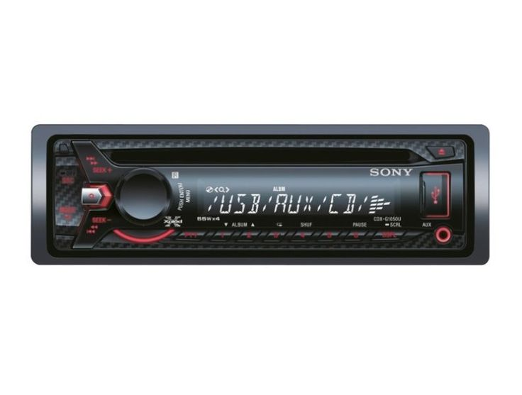 Front Aux-inFront USB55w x 42 x 5V Pre-outsDetachable FaceRemote ControlCarbon Fibre FinishR799 - Free DeliveryPurchase:http://www.soundmatch.co.za/products/product/1270/sony-cdx-g1050u-usb-mp3-player-