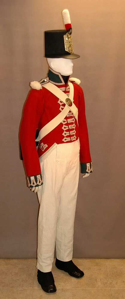 Private (Battalion Company)-The 49th (Hertfordshire) Regiment of Foot- in the Canadas- 1802-1815 Image:  historicaltwiststore