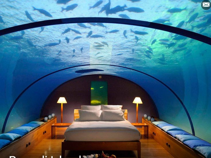Wow You Can Sleep Underwater And Dine As Well
