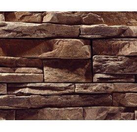 Stenvägg Vermont Bark - 0,5 m2
