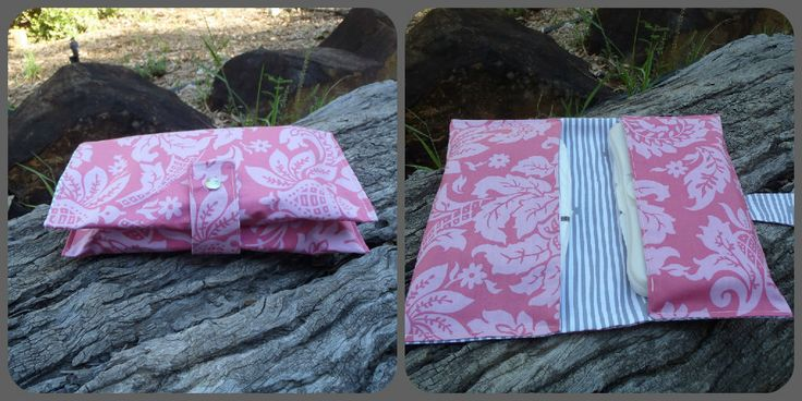 Two pocket nappy & wipes wallet. $20