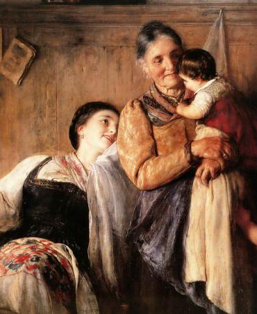 .:. Γύζης Νικόλαος – Gyzis Nikolaos [1842-1901] Κου κου (λεπτομέρεια)