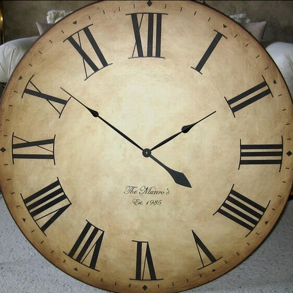 extra large wall clock best 25 large wall clock ideas on large 11674
