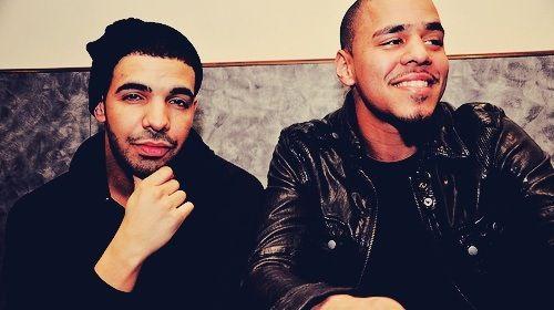 J Cole and Drake ❤❤