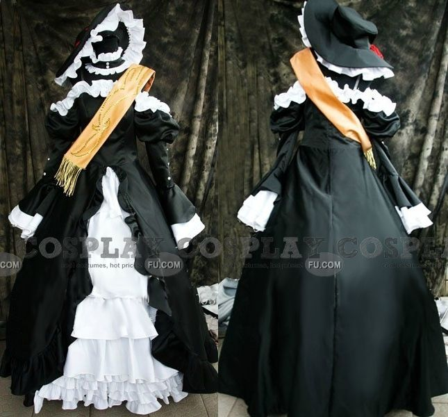 Custom Virgilia Cosplay from Umineko: When They Cry - Tailor-Made Cosplay Costume