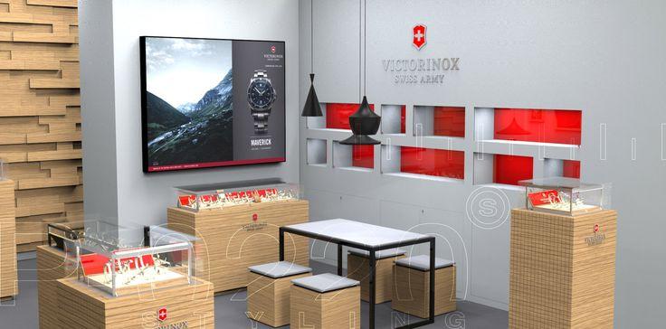 Boutique / Store designed by Pozzo di Borgo Styling.