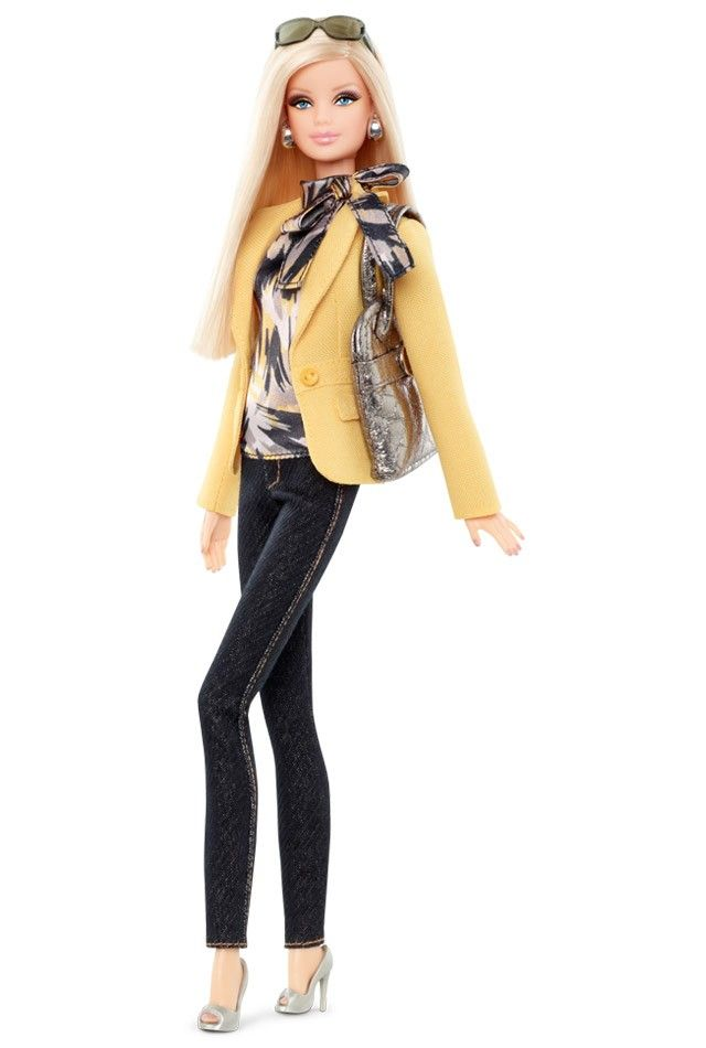 I think this barbie is so stylish, I wish I had her outfit. So sophisticated and professional. :) - Barbie® Styled By Tim Gunn Doll 1 | Barbie Collector