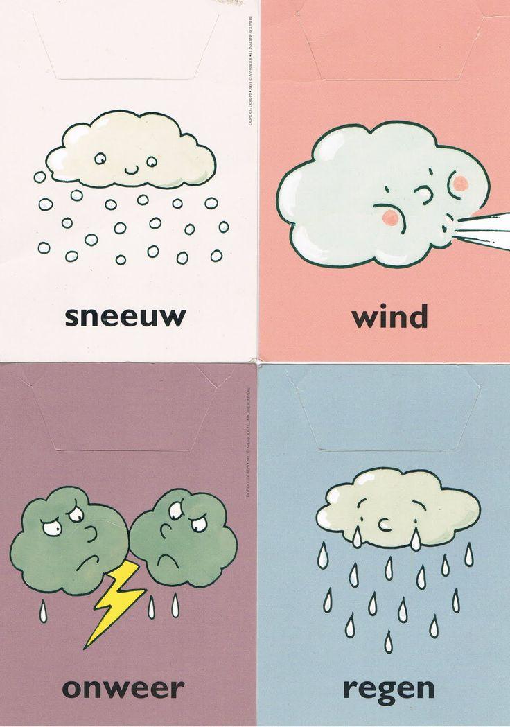 sneeuw, wind, onweer, regen