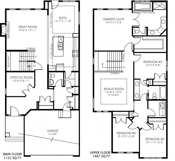 30 best great plans images on pinterest home ideas carriage secretariat model home by pacesetter homes edmonton malvernweather Image collections