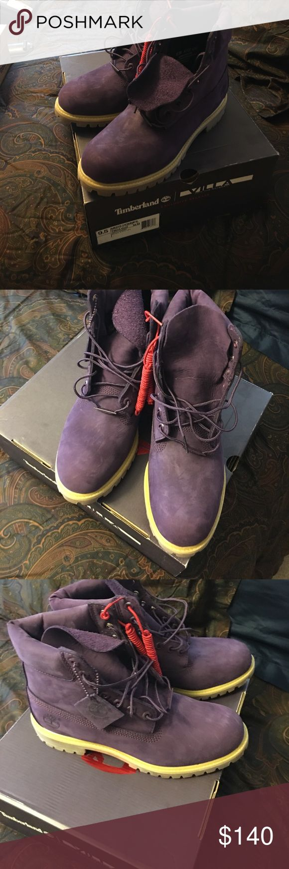 Purple Timberlands Never been WORN! Timberland Shoes Boots