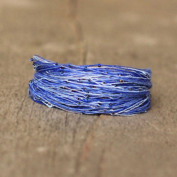 Blue Navy Bracelet African Bracelet for Women by Naryajewelry