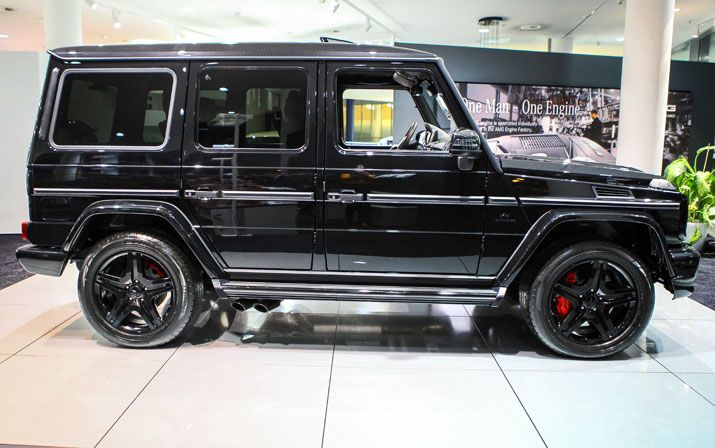 Mercedes benz amg g 63 amg edition for Mercedes benz cleveland area
