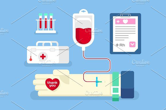 Blood donation concept Graphics Blood donation concept. Medicine care, aid and transfusion, flat vector illustration Vector fil by Kit8.net