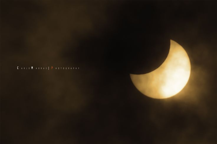 Obscured By Clouds - Eclipse 20/03/2015 by Carlo Marras Photography  on 500px