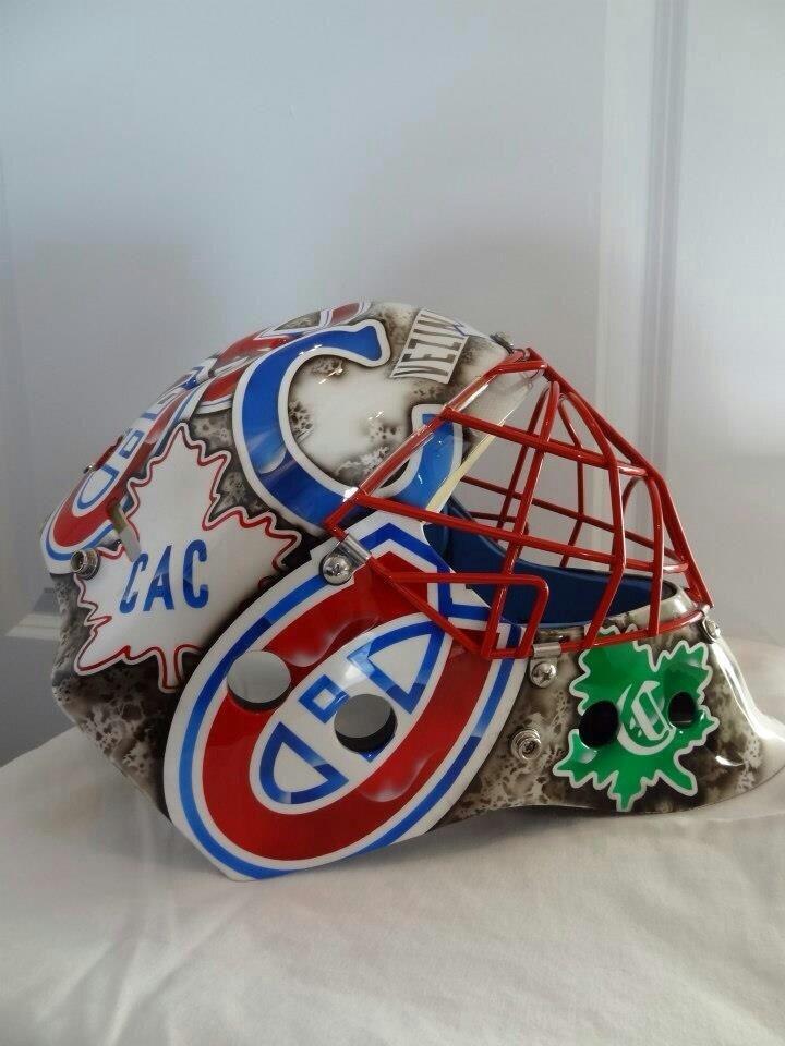 Awesome goalie mask