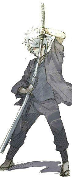 Tobirama Senju when he was a kid!