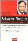"""Rezension """"Schwarze Rhetorik"""" von Dr. Karsten Bredemeier"""