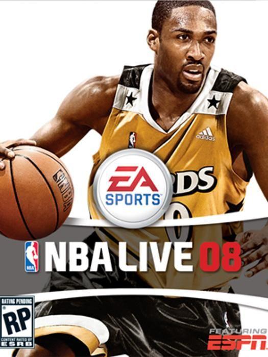Gilbert Arenas, NBA Live 08.
