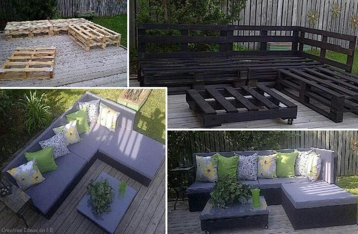 Cool idea for a porch? :)