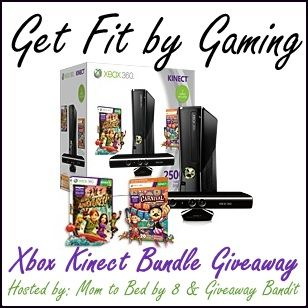 Xbox Kinect Bundle Giveaway ~ Event dates : 2/15 - 3/1