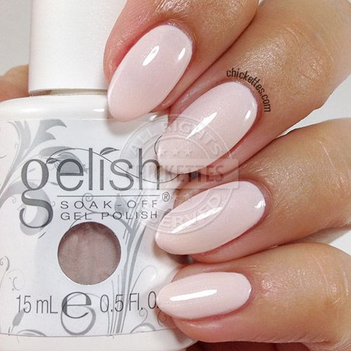 Gelish Tan My Hide - Swatch by Chickettes.com