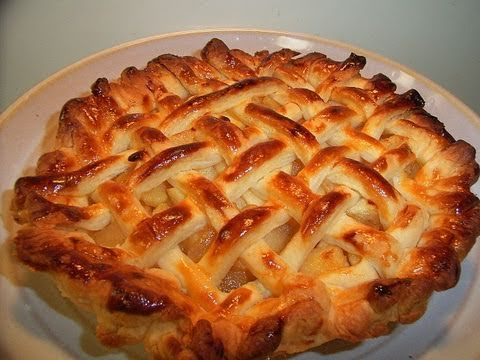 How to make Apple Pie in Japan --saving just for pie crust, it's like a cheat for puff pastry