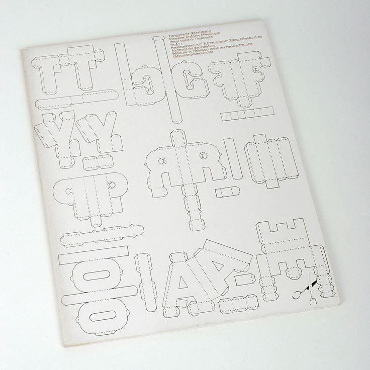 TM 4/71  Typografische Monatsblätter Schweizer Grafische Mitteilungen Revue suisse de l'Imprimerie  Nr. 4, 1971, 90. Jahrgang   Umschlag/Couverture/Cover:  Ludwig Suter, Beromünster