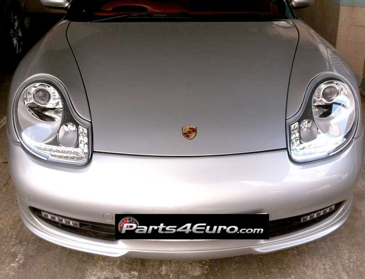Sport Cars For Sale >> LED Chrome Projector Headlights for 986 Boxster | Porsche ...