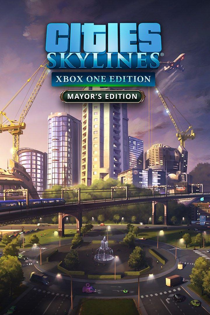 Cities Skylines Mayor S Edition Xbox One Digital Code Argentina I 2020 Xbox One
