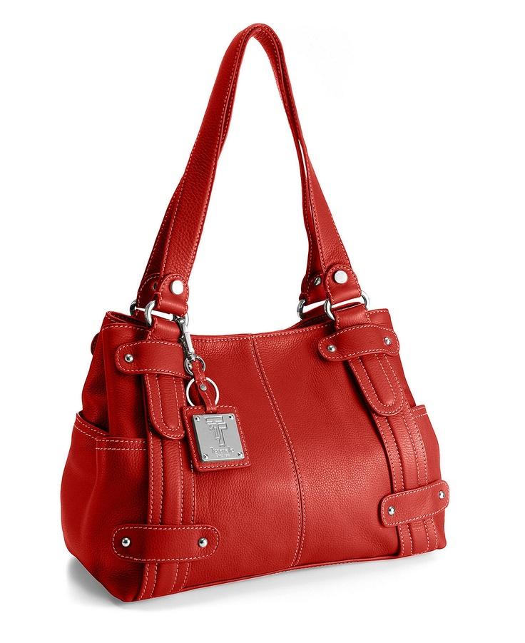 I want a red handbag