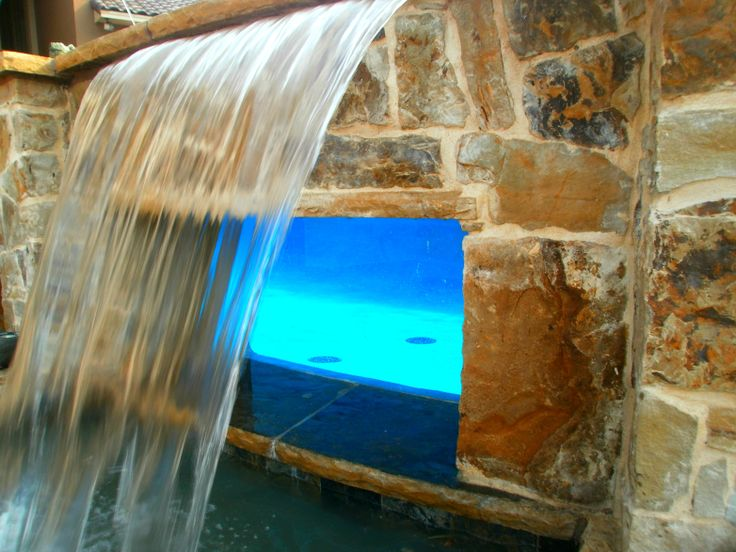 Water Feature Sample By Award Winning Dallas Fort Worth Swimming Pool Builder Puryear Custom