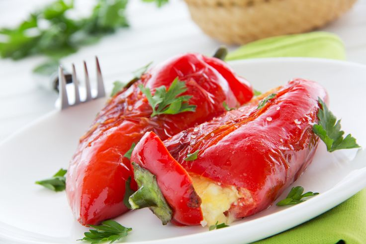 The tanginess of strong, traditional Greek feta cheese combined with the sweetness of Romano peppers make for an extraordinary culinary combination! Follow this traditional Greek peppers stuffed with feta cheese recipe and transport yourself to your favourite Greek taverna!