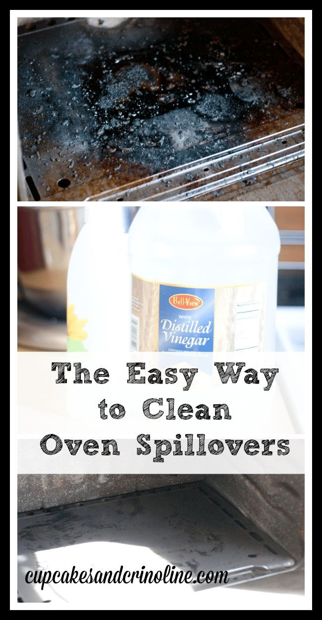 How To Clean Your Oven Without Chemicals Oven cleaning