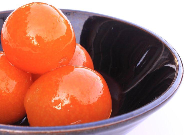 Candied Kumquats and Kumquat Syrup