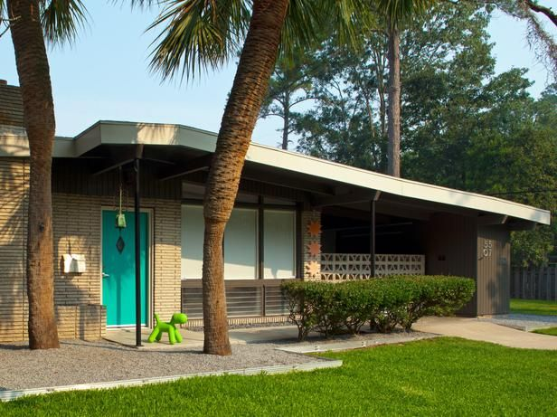17 Best Images About Mid Century Exterior Colors On