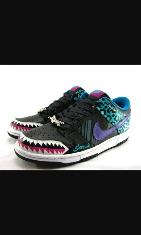 Shark Shoes, Custom Sneakers, Shoes Sneakers, Nike, Spring, My Style,  Google Search, Weird, Footwear