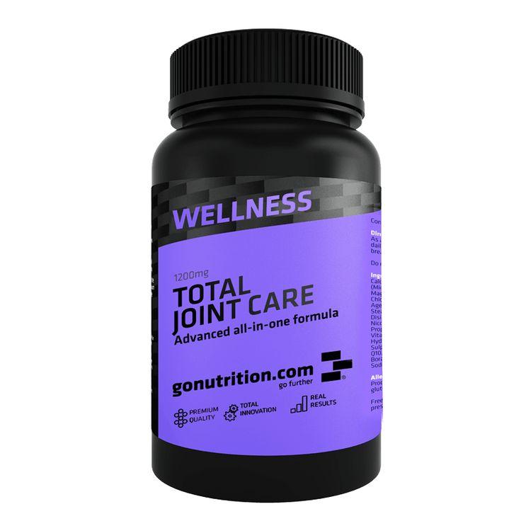 Total Joint Care - Benefícios Chave - Promove a saúde dos ossos, cartilagens e tecidos conjuntivos. - Fórmula avançada para o cuidado das cartilagens. - Ideal para quem treinos de força e repetitivos.
