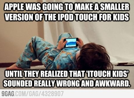 ITouch kids: For Kids, Funny Humor, Funny Pictures, Ipod Touch, Itouch Kids, Apple, Giggl, Funny Stuff, Hilarious