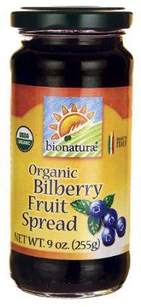 Bionaturae Organic Fruit Spread Bilberry -- 9 oz: Amazon.com: Grocery & Gourmet Food