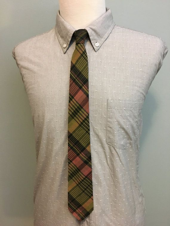 ON SALE Pink/Gold/Green/Black Plaid Men's Indian Cotton