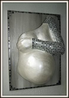 Hand & Arm - Gipsabdruck, Bauchmaske, Babybauch, Schwangerschaft Düsseldorf
