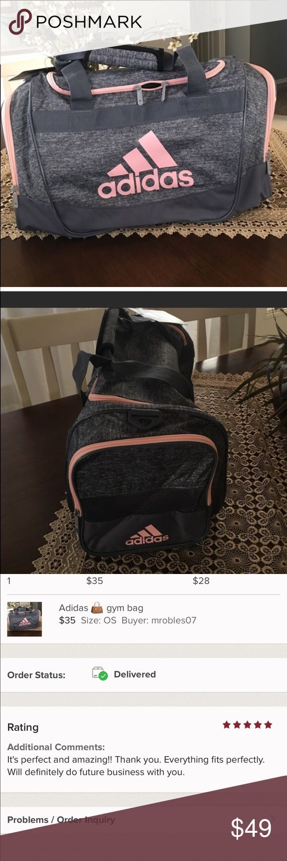 Adidas duffle bag Brand new perfect fit Adidas Bags
