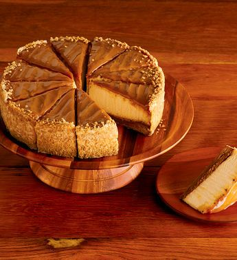 The Cheesecake Factory® Salted Caramel Cheesecake