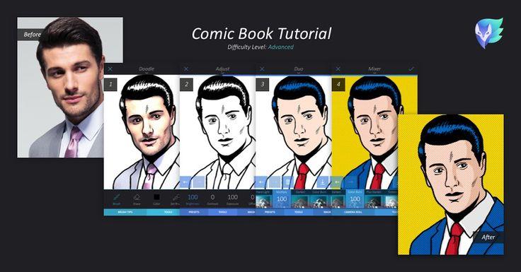 Comic Book Tutorial   Enlight   Enlight Leak