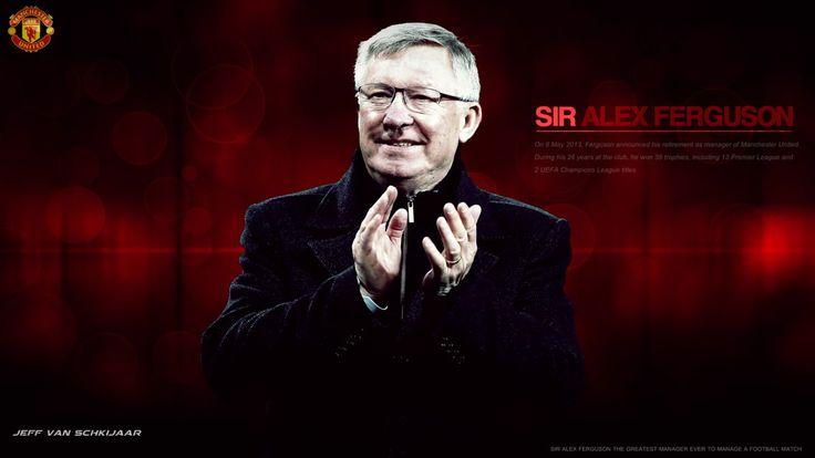 Sir Alex Ferguson Manchester United Wallpaper 2014 By