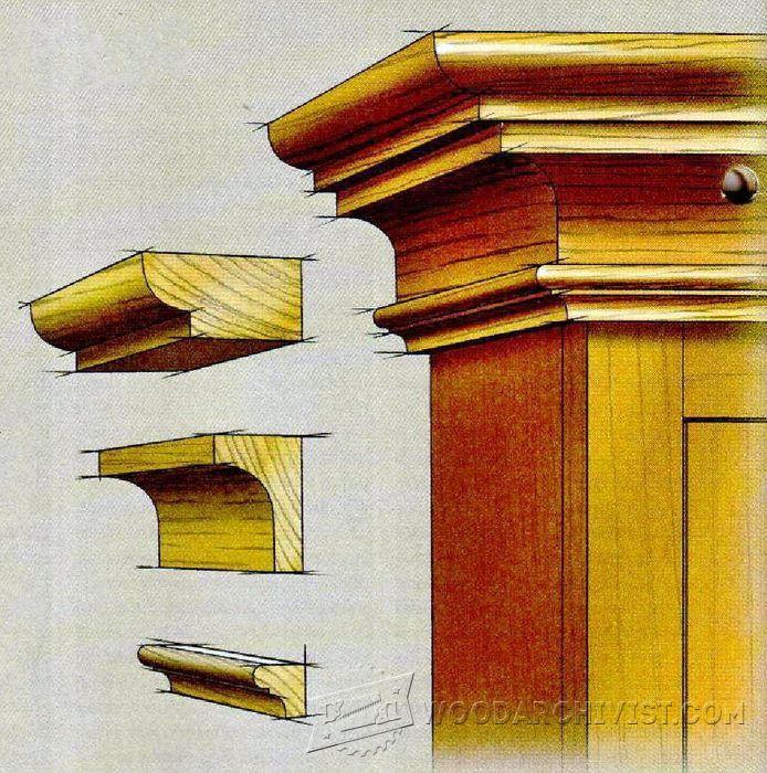 Making Crown Molding - Furniture Molding Construction Techniques | WoodArchivist.com . . . . . der Blog für den Gentleman - www.thegentlemanclub.de/blog