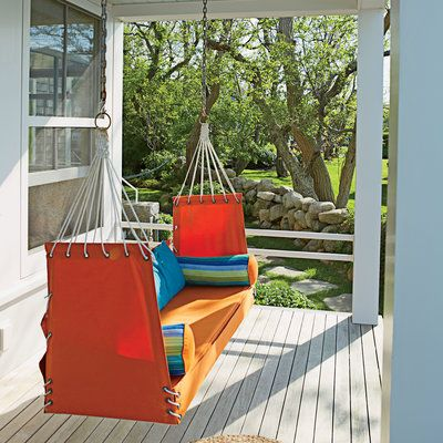 dreamy cottage porch swing bedsfront - Front Porch Swing