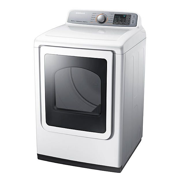 Samsung Samsung Dve50m7450w A3 7 4 Cu Ft Electric Dryer White Alternate Image Electric Dryers Gas Dryer Samsung Appliances